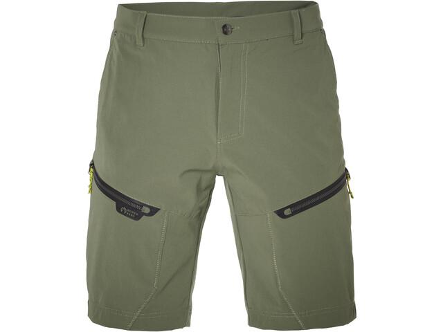 North Bend Extend Pantalones cortos Hombre, green lichen